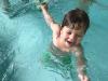 Predzadnji dan plavalnega tečaja
